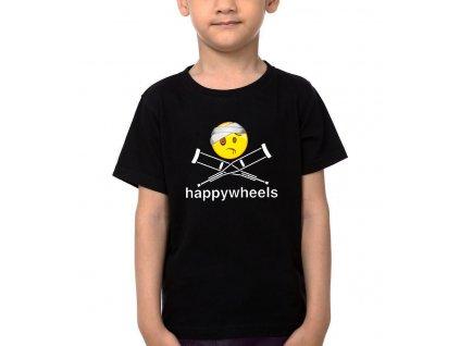 Dětské tričko Happy Wheels