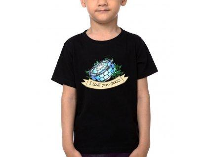 Dětské tričko Iron Man 3000