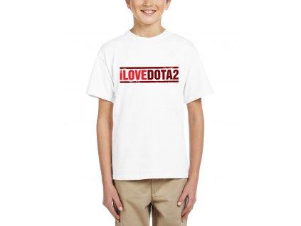 Dětské tričko Miluji Dota 2