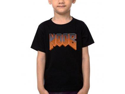Dětské tričko Noob Parodie DOOM
