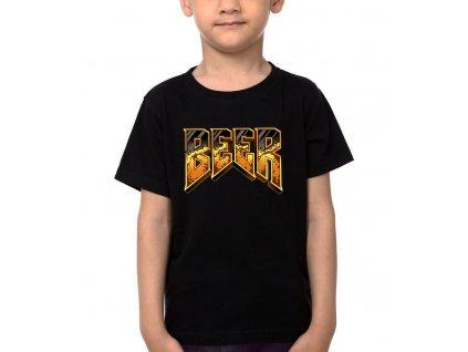 Dětské tričko Pivo Parodie DOOM