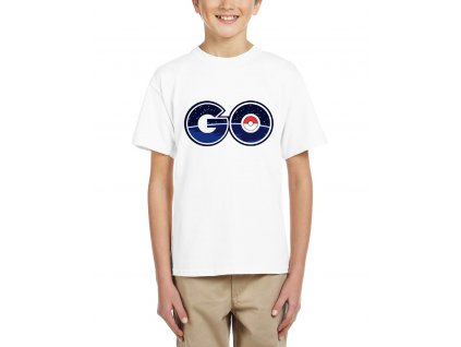 Dětské tričko Pokemon Go Galaxie