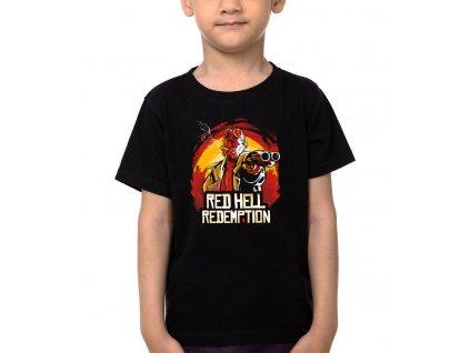 Dětské tričko Red dead redemption hell boy
