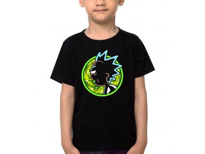 Dětské tričko Rick and Morty Crazy Rick