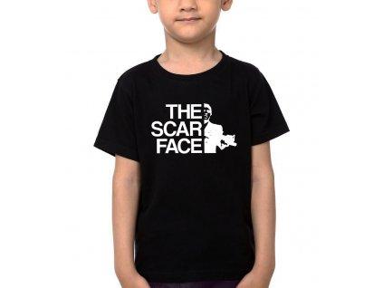 Dětské tričko The scar face