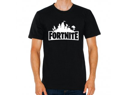 pánské tričko fortnite logo