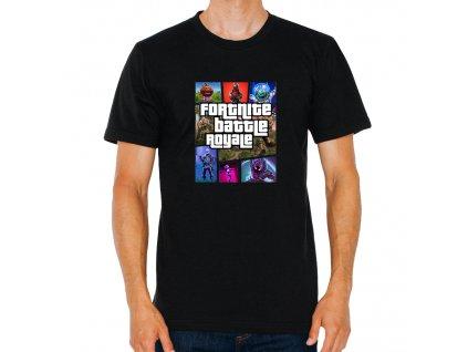 pánské tričko Battle Royale Fortnite