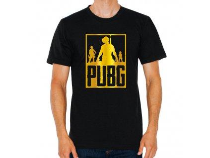 pánské černé tričko PUBG