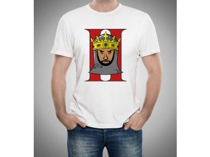 pánské bílé tričko král age of empires