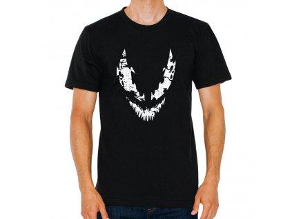 pánské černé tričko Venom