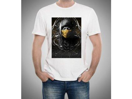 Pánské tričko Mortal Kombat Scorpion