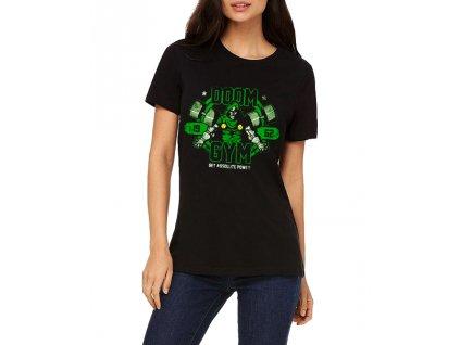 Dámské tričko Doom Posilovna