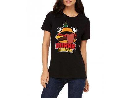 Dámské tričko fortnite durrr burger