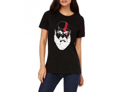 Dámské tričko God of War Kratos