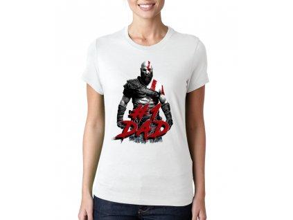 Dámské tričko God of War Nejlepší táta