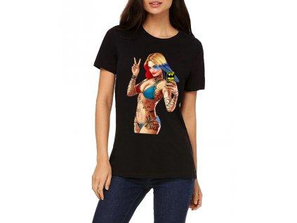 Dámské tričko GTA Harley Quinn