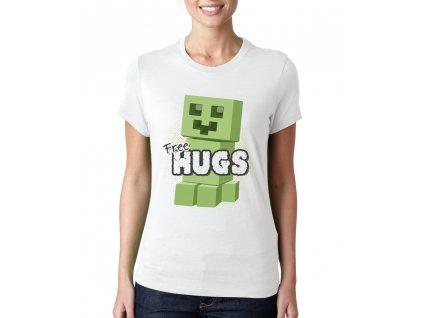 Dámské tričko Minecraft Obětí