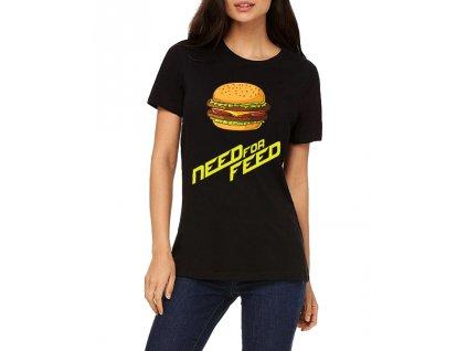 Dámské tričko Need for Speed Parodie