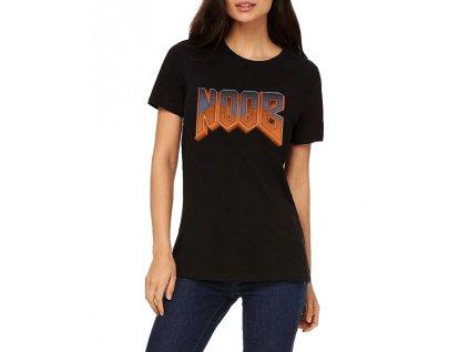 Dámské tričko Noob Parodie DOOM
