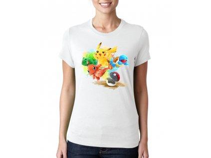 Dámské tričko Pokemon