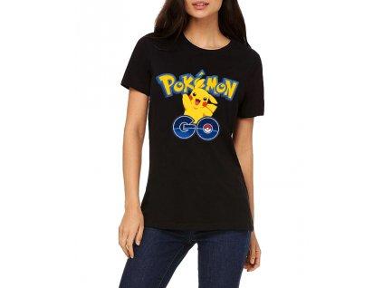 Dámské tričko Pokemon Go Pikachu