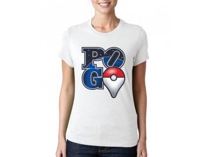 Dámské tričko Pokemon Go Vesmír