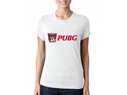 Dámské tričko PUBG imitace KFC
