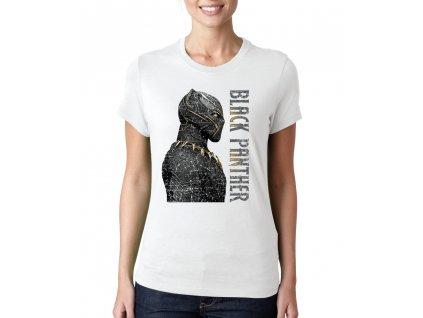 Dámské tričko Black panther Král Wakandy