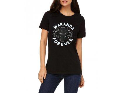 Dámské tričko Black panther Wakanda Navždy