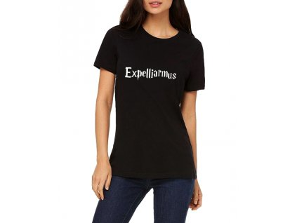 Dámské tričko Harry potter expelliarmus