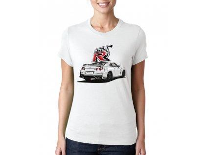 Dámské tričko Nissan GT R Rychle a zběsile