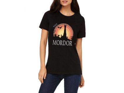 Dámské tričko Pán prstenů Navštivte Mordor