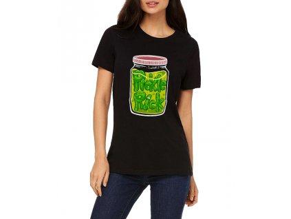 Dámské tričko Rick and Morty Já jsem Pickle Rick!