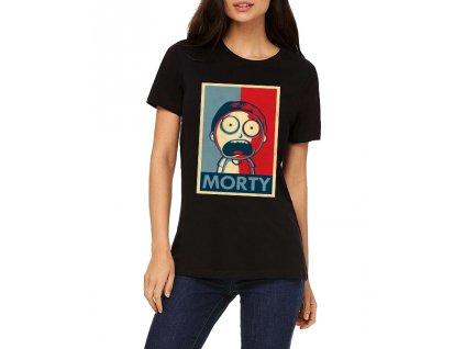 Dámské tričko Rick And Morty Morty