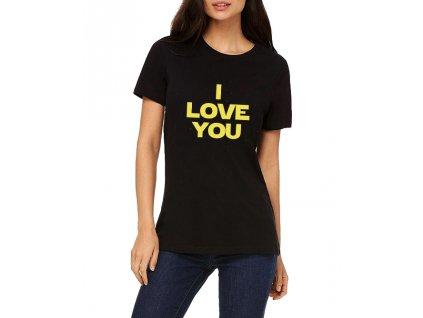 Dámské tričko Star Wars Miluji tě