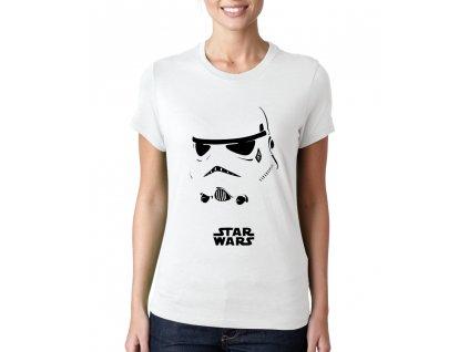 Dámské tričko Star Wars Stormtrooper Maska