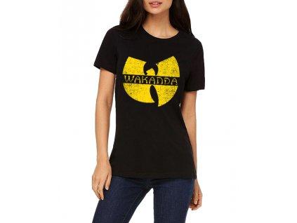 Dámské tričko Wakanda Black panther