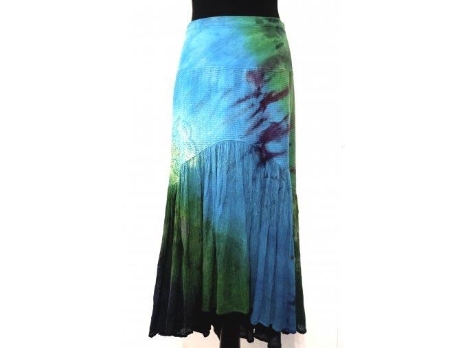 větší sukně s mandalou