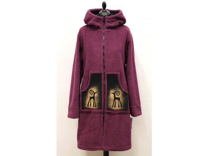 vyteplený kabátek kozoroh