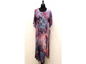 šaty mořský koník růžovo fialové