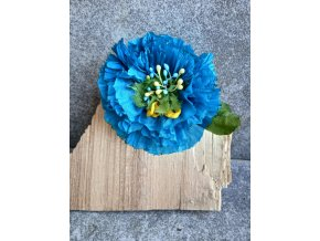 Květ tyrkysový