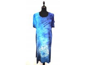 kratší šaty s mandalou