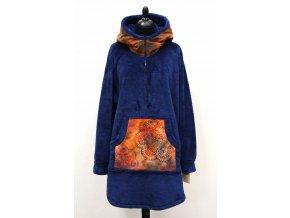 modrý kabátek mandala