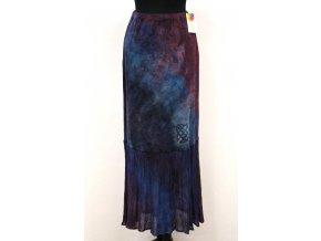 teplejší fialová sukně