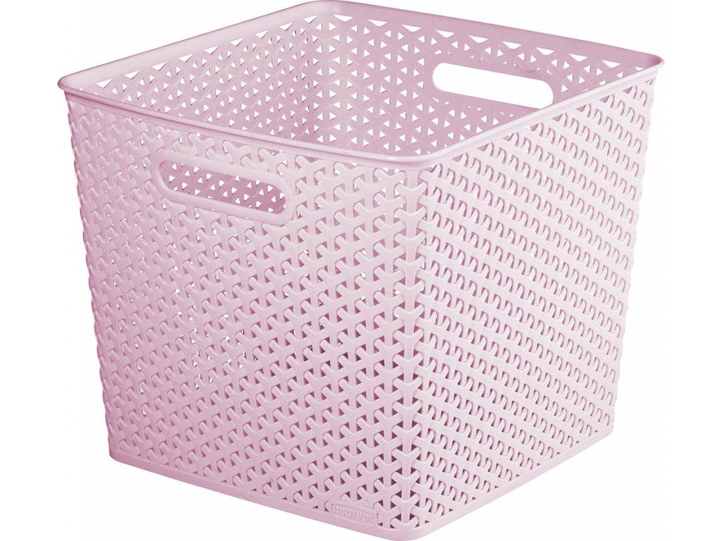 MY STYLE SQR box - růžový
