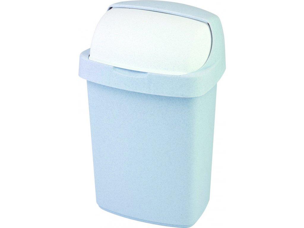 ROLL TOP 25L koš odpadkový - sv. šedý