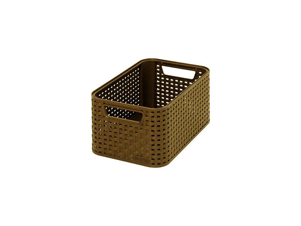 STYLE box - S - kávový