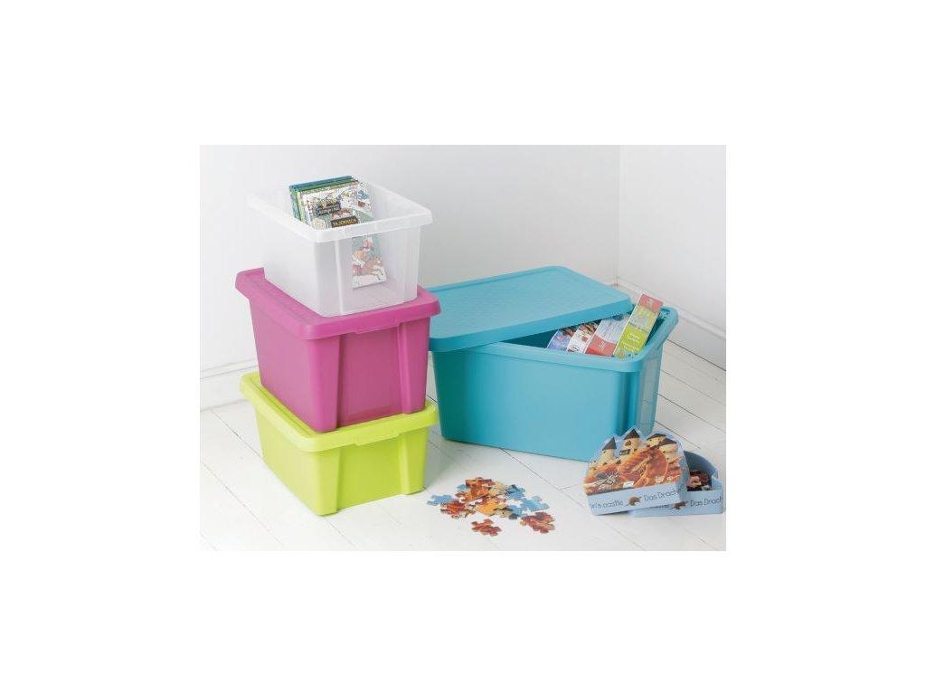 ESSENTIALS box 45L - fialový