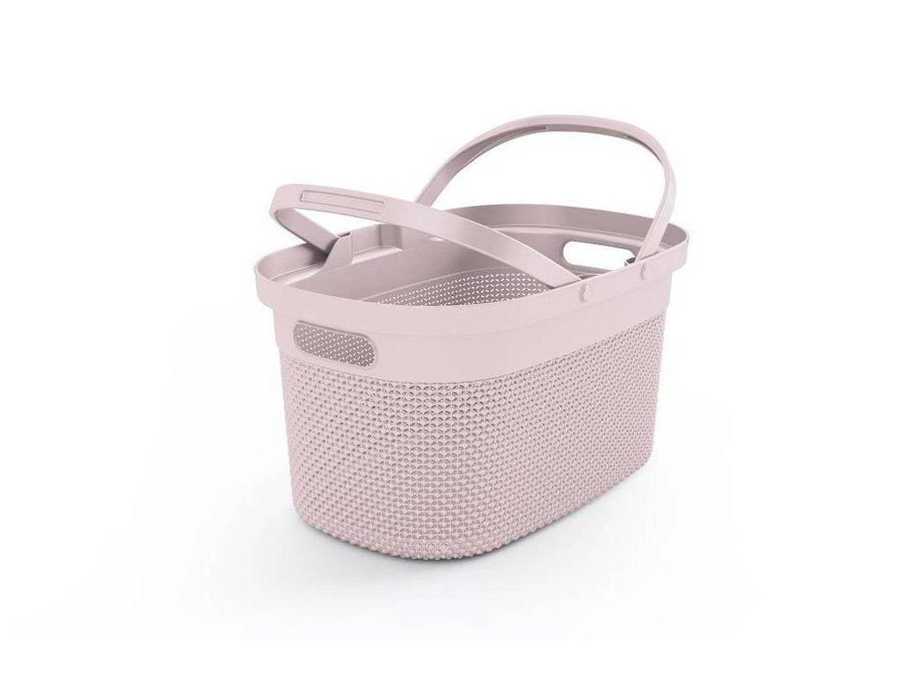 FILO nákupní košík - růžový