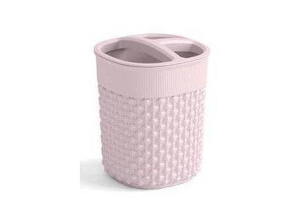 FILO kelímek na kartáčky - růžový